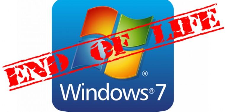 Nyugdíjba vonul a Windows 7